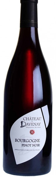 Les chais Saint Laurent  BOURGOGNE Pinot noir, Château de Davenay