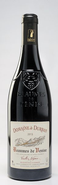 Les chais Saint Laurent  Beaumes de Venise «Vieilles Vignes», Domaine de Durban