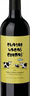 Les Chais Saint Laurent CUATRO VACAS GORDAS  malbec-cabernet sauvignon  – vin Vegan
