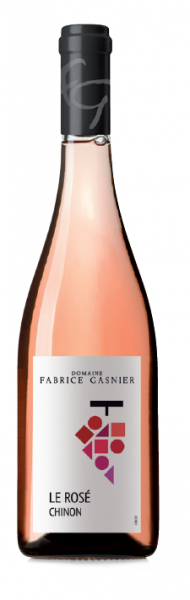 Les chais Saint Laurent  CHINON ROSE – DOMAINE FABRICE GASNIER
