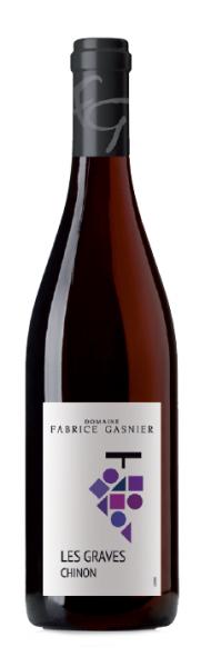 Les chais Saint Laurent  LES GRAVES CHINON ROUGE – DOMAINE FABRICE GASNIER