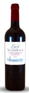 Les Chais Saint Laurent ESPRIT DE VALANDRAUD – SAINT EMILION GRAND CRU